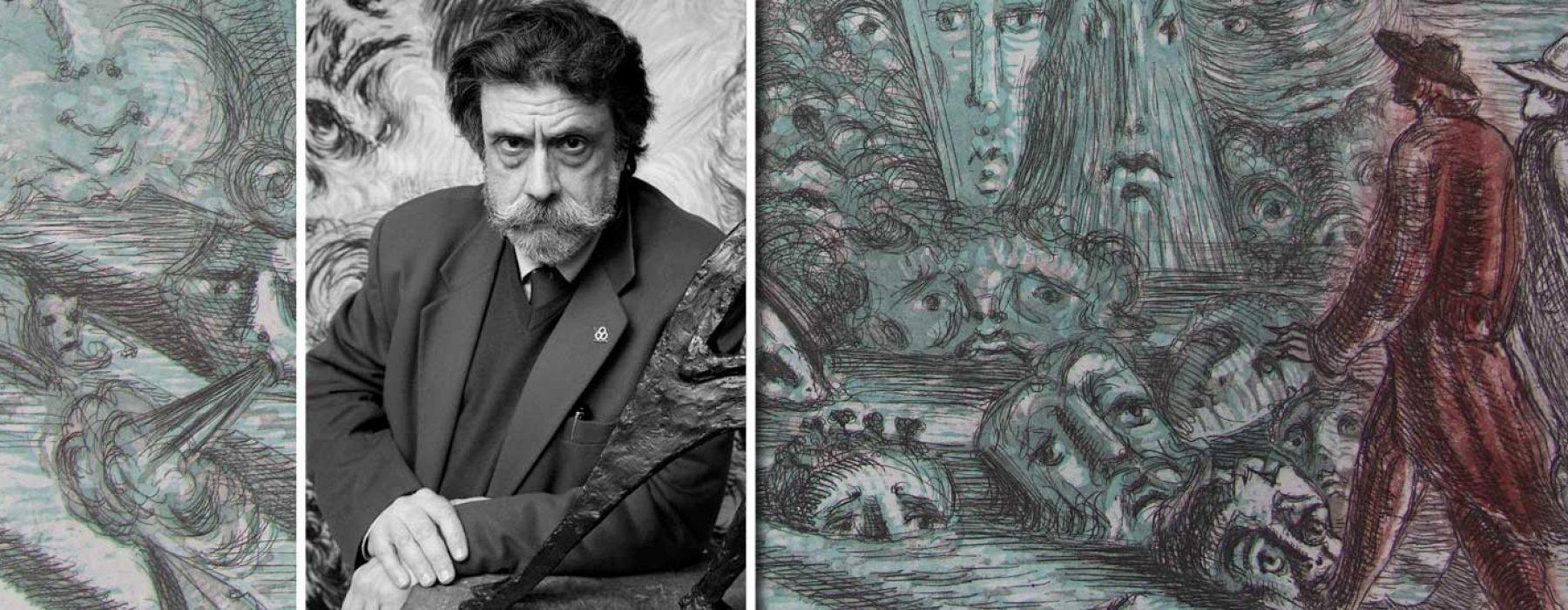 L'essenza dell'arte e della cultura Italiana in un Maestro