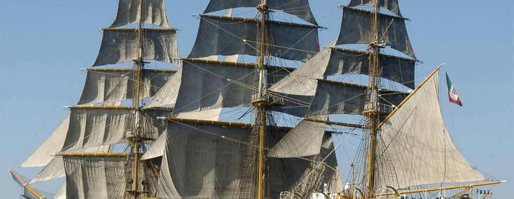 Amerigo Vespucci, the most beautiful Italian ship in the world