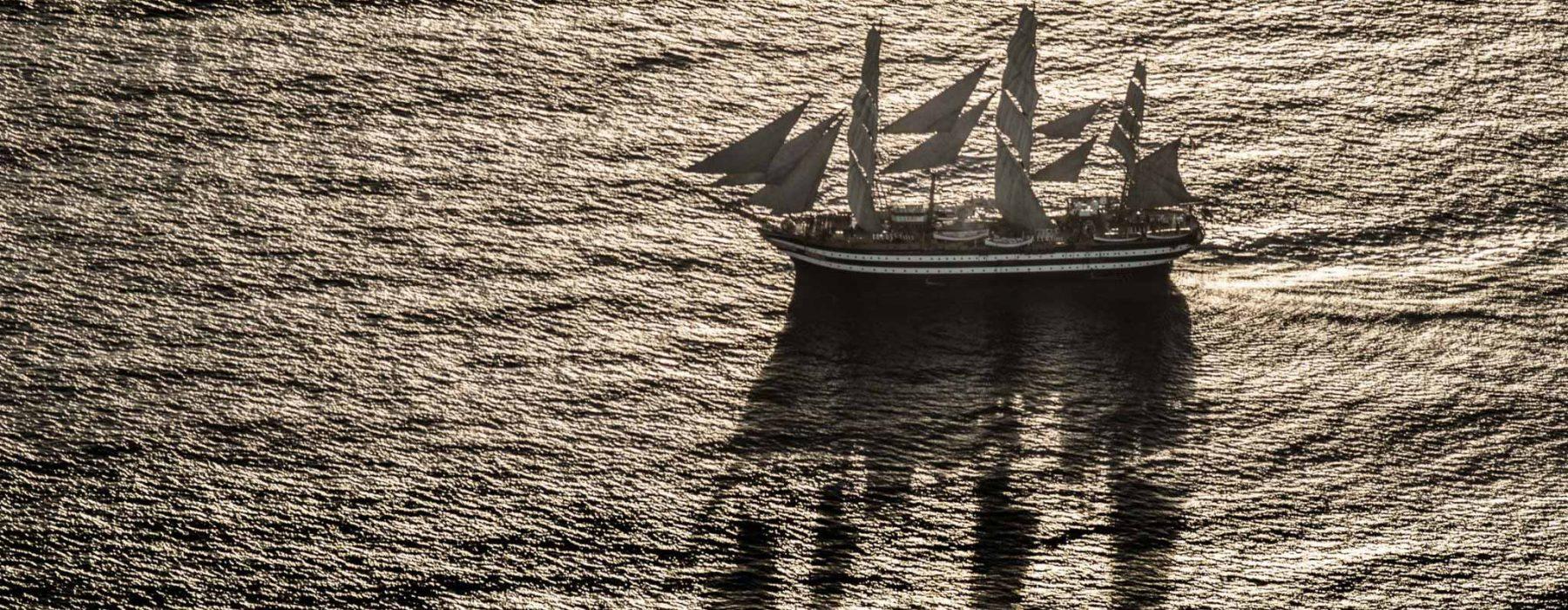 L'Amerigo Vespucci, la nave Italiana più bella del mondo